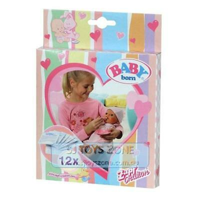 Baby Born Doll Food Pack 12 Sachets Fun Kids Activity Pretend Play Toys