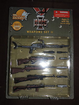 The Ultimate Soldier AXIS WEAPONS SET – SET II  #60060   -  New 1:6 scale