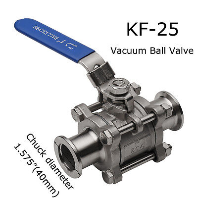 Vacuum Ball Valve-KF-25- For Dairy products -Cosmetics-Food&Chemical fields hot