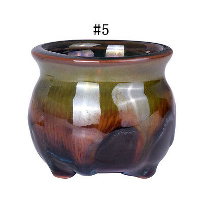 "Favor Chinese Ceramic Style Bonsai Planter #5 Succulent Flower Pots 2.3*2.1"" 88"