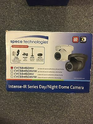 NEW IN BOX - SPECO CVC5845DNV Intense IR Vandal Dome Turret Camera