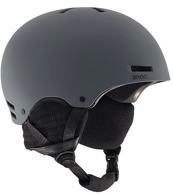 Anon Raider Dark Gray Mens 2017 Helmet Snow Ski Snowboard Free Post Australia
