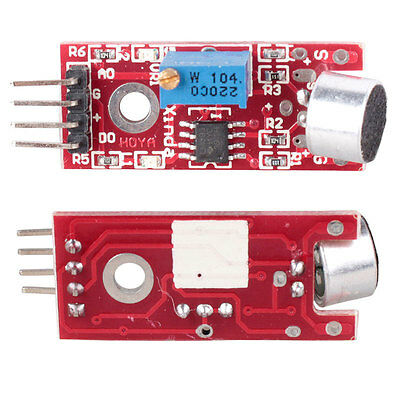 5Pcs Microphone Sensor AVR PIC High Sensitivity Sound Detection Module Arduino