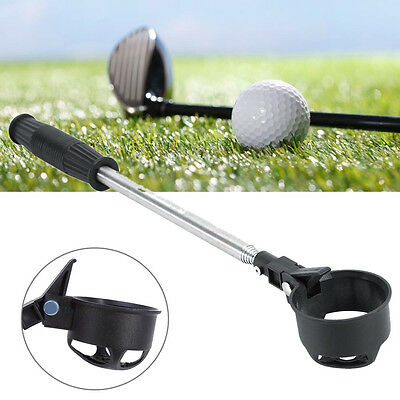 Portable Stainless Steel Telescopic Golf Ball Retriever Scoop Pick Up Tool SA