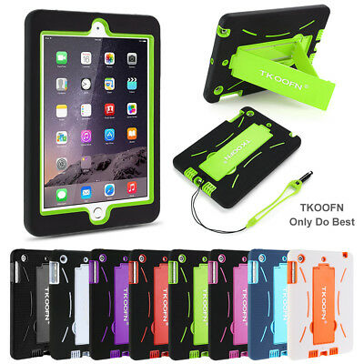 For Apple Ipad 4 3 2 Mini Air Kids Heavy Duty Shockproof Stand Case Cover