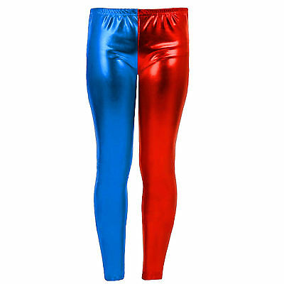 Kids Suicide Squad Harley Quinn Daddy's Lil Monster Costume Pants Leggings