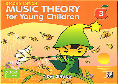 MUSIC THEORY FOR YOUNG CHILDREN BOOK 3 Ying Ying Ng Poco - NEW SECOND EDITION