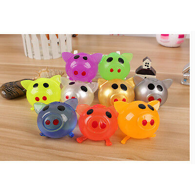 Anti Stress Face Pig Reliever Ball Autism Mood Squeeze Relief Toy HGUK