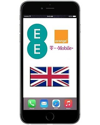 FOR T-Mobile / EE UK FAST FOR IPhone 5, 5s, 5C, 6 6s  New Unactivated service