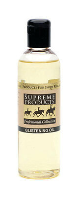 Supreme Products GLISTENING OIL  Horse Pony Enhances And Highlights 250ml