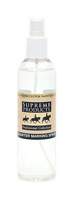 Supreme Products QUARTER MARKING SPRAY Horse Pony Grooming Showing 250ml