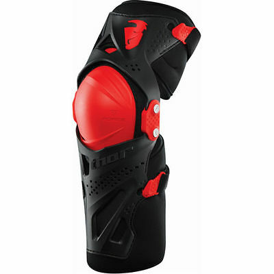 Thor S17 Force Xp Youth Knee Guards Hinged Motocross Mx Bmx Kids Boys Junior New