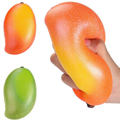 Exclusive Colossal Areedy Squishy Mango Super Slow Rising Scented Authentic CA