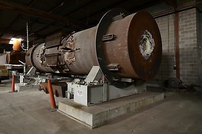 Didion Rotary Reverberatory Melting Furnace Rotates 310° 14 Tons/day 30 Mill BTU