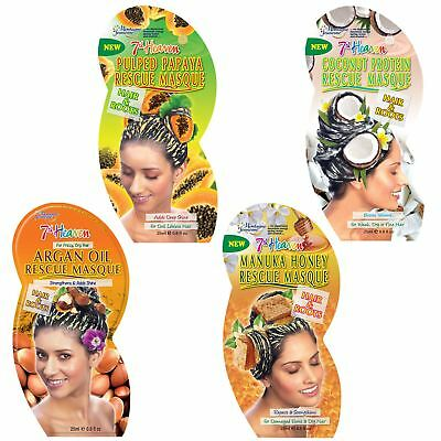 7th Heaven Hair Rescue Masks Dry Frizzy Damaged Hair Repair Treatment