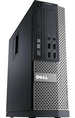 Fast Dell 7010SFF Desktop PC Intel Core i5 3470 3.2Ghz 8GB Windows 10 Wireless