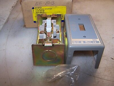 New Square D 2510Fg1 Fhp Manual Motor Starter  1 Hp 115-277 Vac