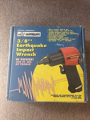 "Central Pneumatic EarthQuake 3/8"" Air Impact Wrench"
