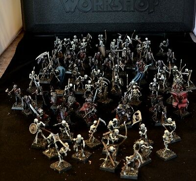 Warhammer / Age of Sigmar - Vampire Counts / Death Alliance army well painted