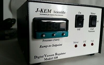 J-KEM DVR-200 Digital Vacuum Regulator  120V