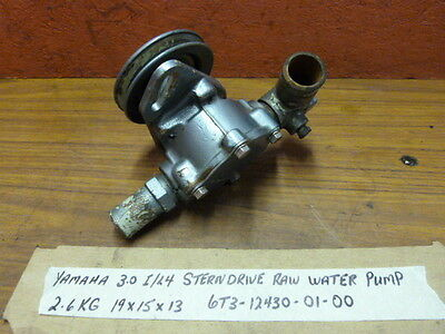 Yamaha Sterndrive GM 3.0 I/L4 181 Raw Water Pump Assembly 6T3-12430-01-00
