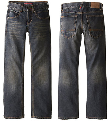 NEW Tommy Hilfiger Boy's Slim Fit Jean - Dark - SZ 8 10 12 14 16
