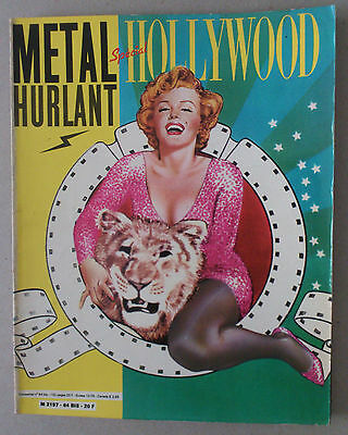 ***  METAL HURLANT N°64 bis. SPÉCIAL HOLLYWOOD  ***