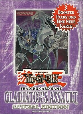Yu-Gi-Oh! Gladiators Assault Special Edition dt. Neu & OVP