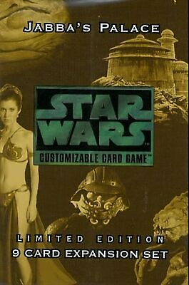 Star Wars Episode One: Jabba's Palace Booster Lim. Neu & OVP