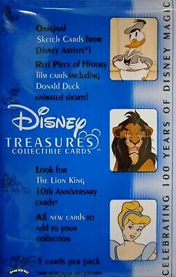 Disney Treasures Collectible Cards Neu & OVP