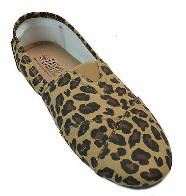 ed53794f28d Y-R-U WOMENS LEOPARD Tiger Print Loafers Shoe Slip-on Shoes New ...