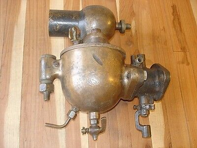 Antique Schebler Brass Carburetor Indianapolis D247 John Deere Hit & Miss Indian