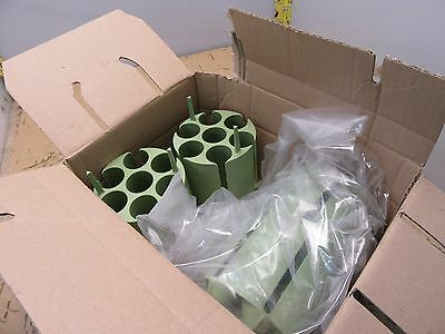 box of 4x ThermoFisher 75003638 7x50mL conical centrifuge adapters (3*C-16.5)