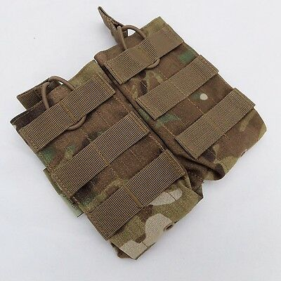 New Templar Assault Systems Open Top Multicam Molle Double Magazine Pouch,mag