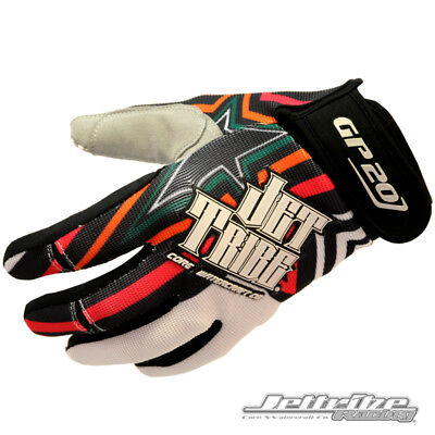 Jettribe GP-20 PWC Gloves Multicolor Jetski Ride & Race Jet Ski Gear 14432-ML