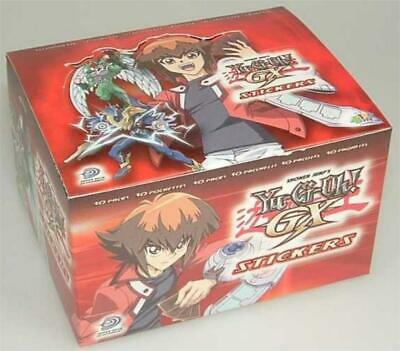 Yu-Gi-Oh! GX Sticker Display (50 Tüten) Neu & OVP