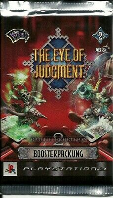 GW64 The Eye of Judgment Booster Biolith Rebellion 2 Neu & OVP