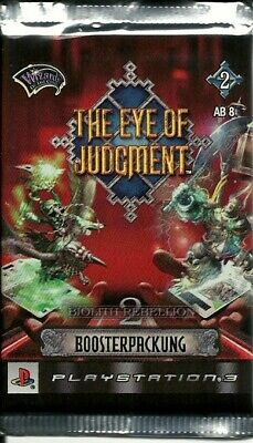 The Eye of Judgment Booster Biolith Rebellion 2 Neu & OVP