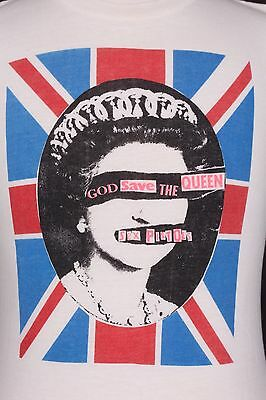"Vtg 70S Sex Pistols ""God Save The Queen"" T Shirt Usa Mens Medium"