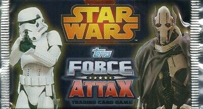 Topps - Star Wars - Force Attax Movie 3 - ein (1) Booster mit 5 Karte Neu & OVP
