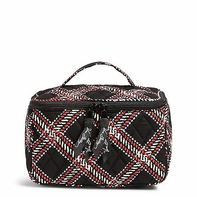 Vera Bradley Factory Exclusive Travel Cosmetic Bag in Minsk Plaid