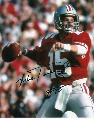 Photos Mike Tomczak Pittsburgh Steelers Action Signed 8x10 College-ncaa