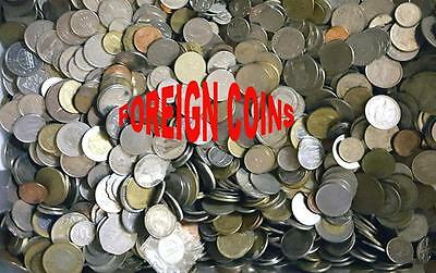 11 Oz. Bag Of Mixed Foreign Coins - Mixed Countries, Dates & Condition