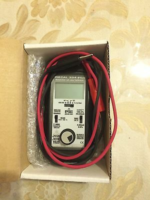 Calibrator   Piecal 334Plus 4-20mA Loop Calibrator