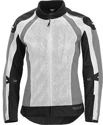 Fly Racing 477-8056XS Women's Coolpro Jacket XS White/Black
