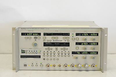 Anritsu MP1652A Pulse Pattern Generator 0.05 MHz - 3 GHz