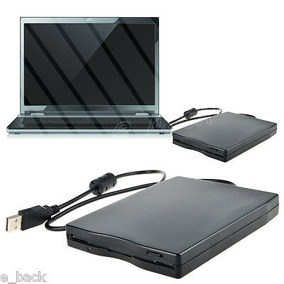 "External USB 3.5"" 1.44MB Floppy Disk Drive Windows XP/7/iMac LED Indicator CA"