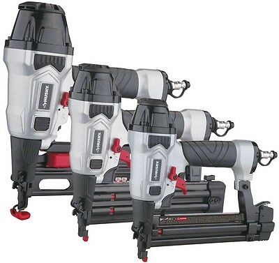 Husky Finish Kit with 16-Gauge Finish Nailer, 18-Gauge Brad Nailer and 18-Gauge