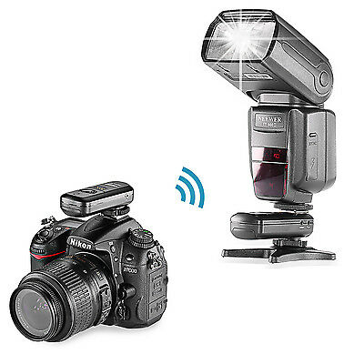 Neewer  2.4GHz FC-16 Kit de Disparador Remoto para Nikon Flash SPEEDLIGHT