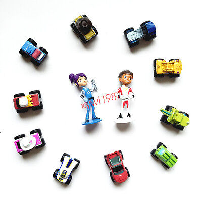 Blaze and the Monster Machines 12pc set mini figure toy KIDS Doll anime New